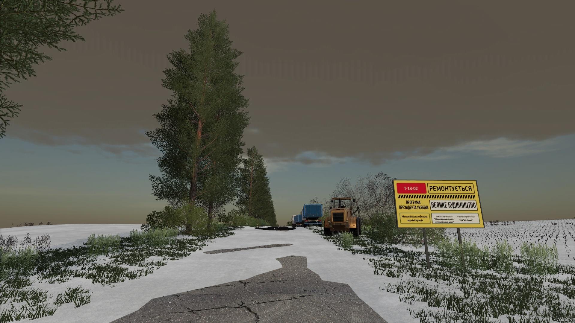 Мод на новую карту Николаевщина для Farming Simulator 2019