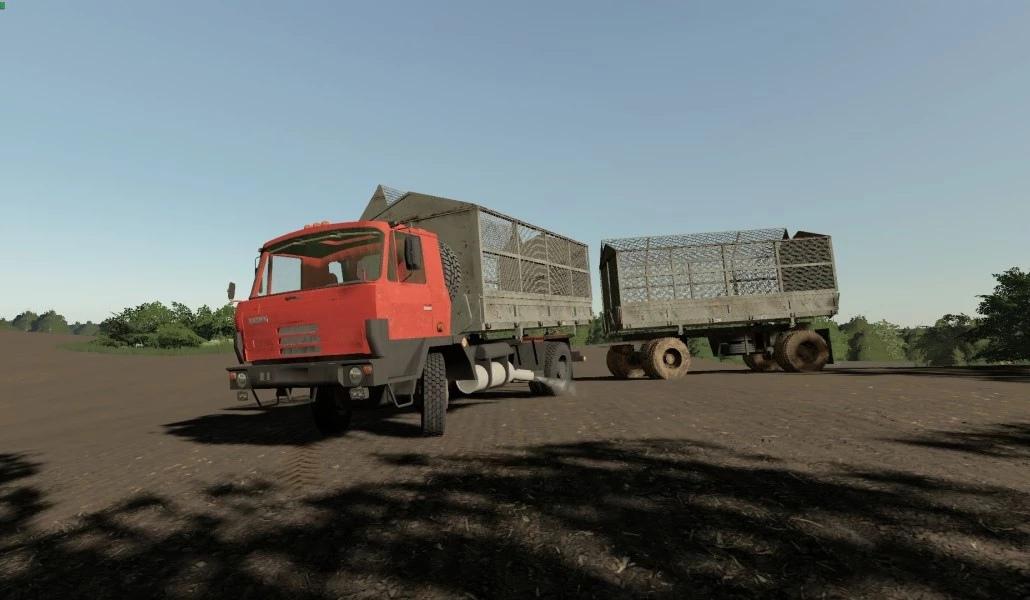 Грузовик Tatra 815 4х4 для Farming Simualtor 2019