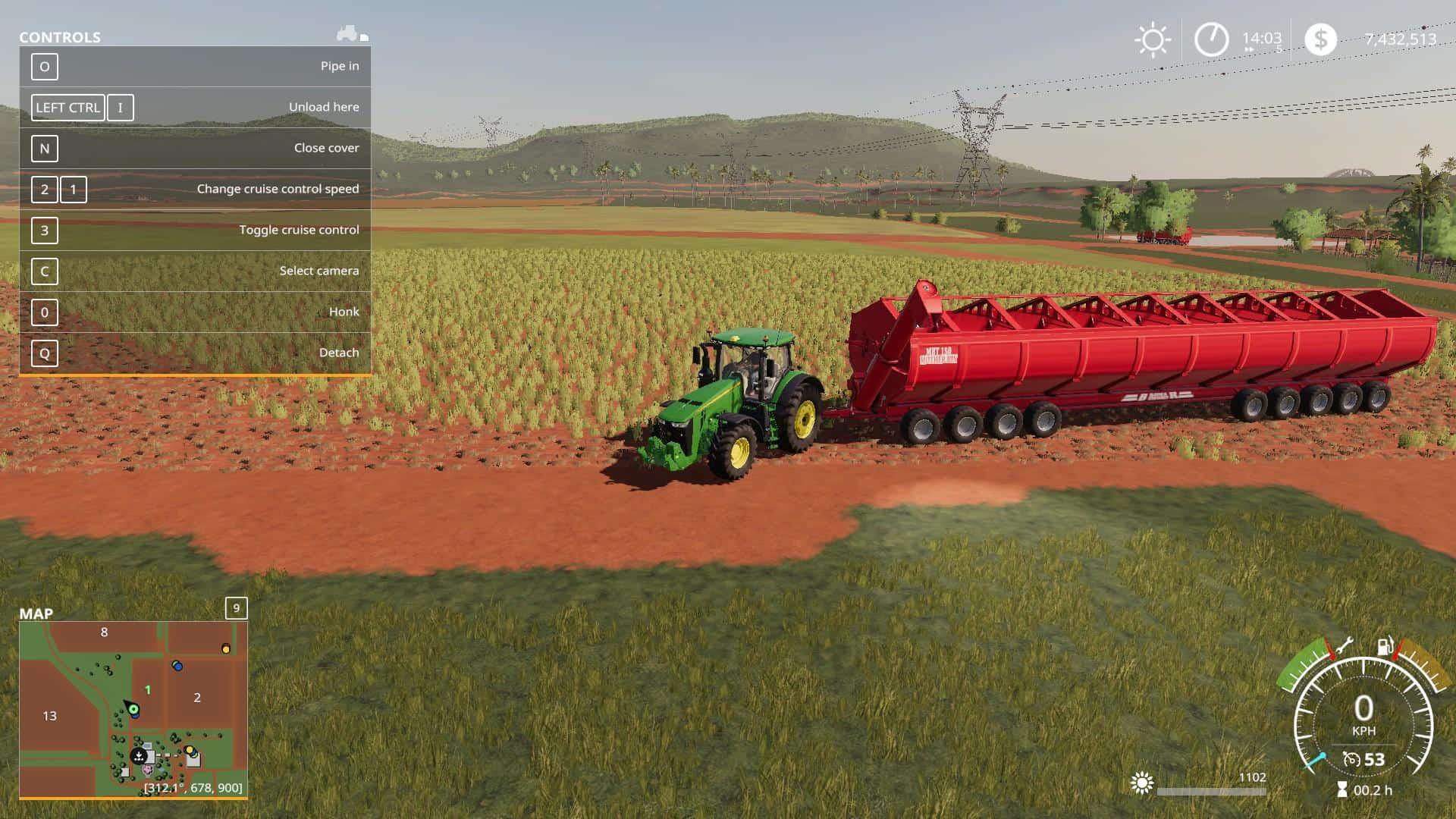 "Мод на карту ""Покровка"" для Farming Simulator 2019"