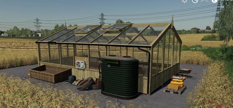 Мод на томатный завод для Farming Simulator 2019