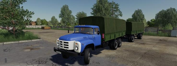 Мод на грузовик ЗиЛ-133 для Farming Simulator 2019
