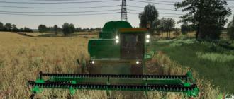 Мод на комбайн ДОН 1500B2 для Farming Simulator 2019
