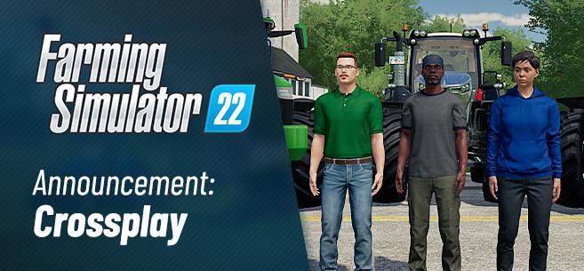 Farming Simulator 22 - кроссплатформенный мультиплеер