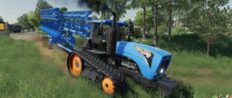 Мод на трактор GNU 700 для Farming Simulator 2019
