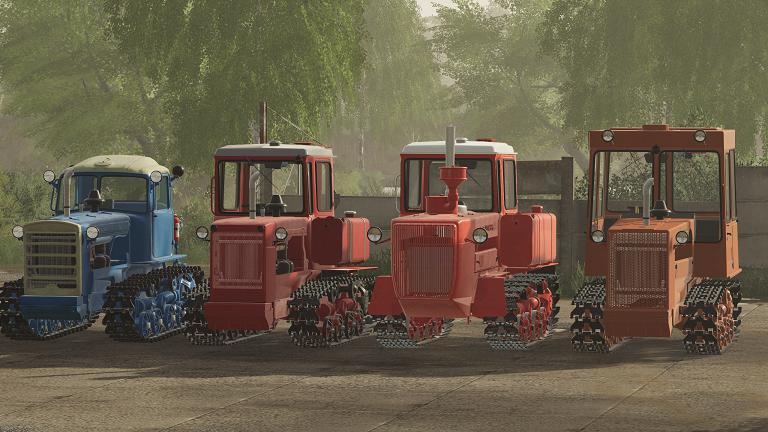 Мод пак тракторов ДТ для Farming Simulator 2019
