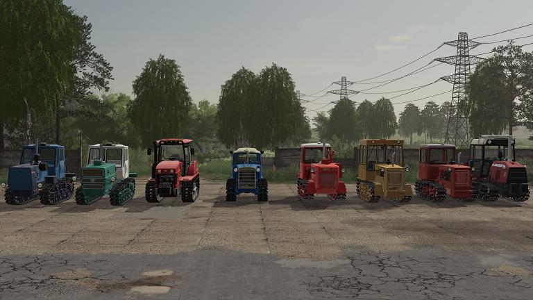 Мод пак гусеничной техники для Farming Simulator 2019
