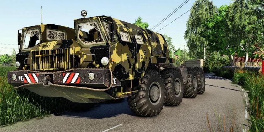 Мод на советский тягач для Farming Simulator 2019