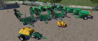 Мод на посевной комбайн Кузбасс для Farming Simulator 2019