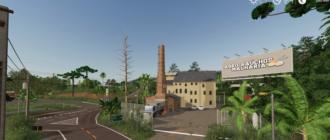 Бразильская карта AGRONÓPOLIS для Farming Simulator 2019